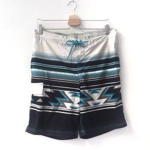 George printed swim shorts size medium